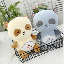 WYZHY Creative new couple small raccoon plush toy sofa bedroom decoration to send friends and children gifts 40CM