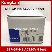 [ZOB] Supply of new original omron Omron level switch 61F-GP-N8 AC220V 8 feet [zob] supply of new original omron omron limit switch zc q2255 5pcs lot