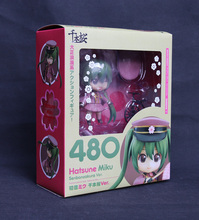 "Hot Nendoroid 480 # Vocaloid Idol Hatsune Miku Senbonzakura Version Cute 4"" Action Figure(China)"