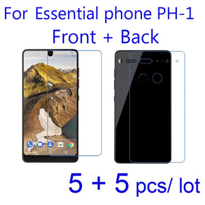 10pcs/set Soft Clear/Matte/Nano Anti-Explosion Protective Films for Essential Phone PH-1 Ph1 Front + Back Screen Protector Foil(China)