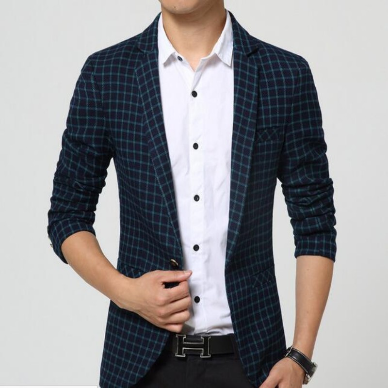 Mens Summer Blazer Fashion