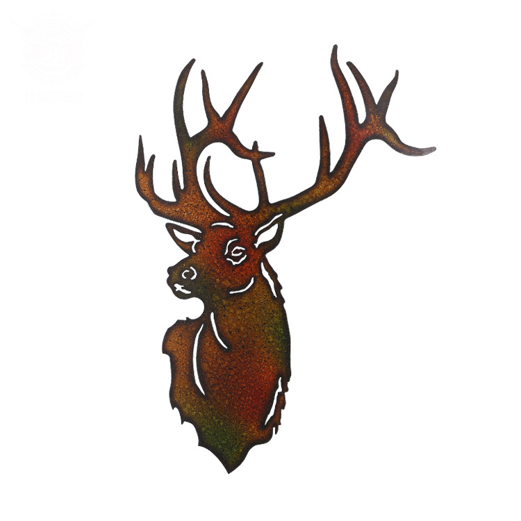 North American 28-degree American hunting series deer ornaments creative home soft decorations bar cafe wall decorationsNorth American 28-degree American hunting series deer ornaments creative home soft decorations bar cafe wall decorations