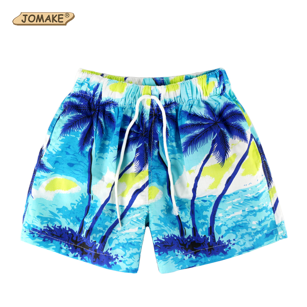 Children Board Shorts Boy Trousers New Fashion 4 Style Color Summer Casual Costume For Kids Beach Shorts 2-16T Print Boys Pants geometric print wrap shorts