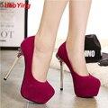 sexy high heel sexy platform pumps women sapato feminino platform stiletto heels hot pink wedding shoes bridal heels D345