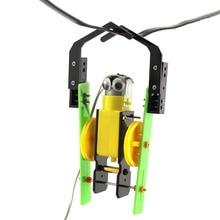 DIY проводной контроль, робот, игрушки ручной работы, физический Гизмо, строительные блоки, наборы солнечной энергии, собранная игрушка, обучающий инструмент