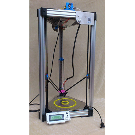Full-sized delta robot 3d printer Kossel