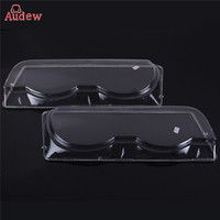 1Pcs Clear Right Left Car Housing Headlight Lens Shell Cover Lamp Assembly For BMW 7 Series