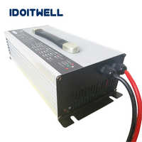 Cargador de batería inteligente 48V 40A personalizado 48v cargador profesional para apilador eléctrico de carretilla elevadora lavadora e rickshaw