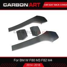 Для BMW M3 F80 M4 карбоновая задняя крышка сиденья M серии F83 M4 F82 M4 F80 M3 fiber Задняя накладка F82 M4 Стайлинг автомобиля