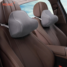 Car Headrest Memory Foam Seat Head Neck Pillow Auto Seat Massage Cushion Cover for Mazda Peugeot Volkswagen BMW KIA Car Styling ceyes car styling case for mazda for toyota alphard skoda bmw m nissan for seat kia auto seat belt cover accessories car styling