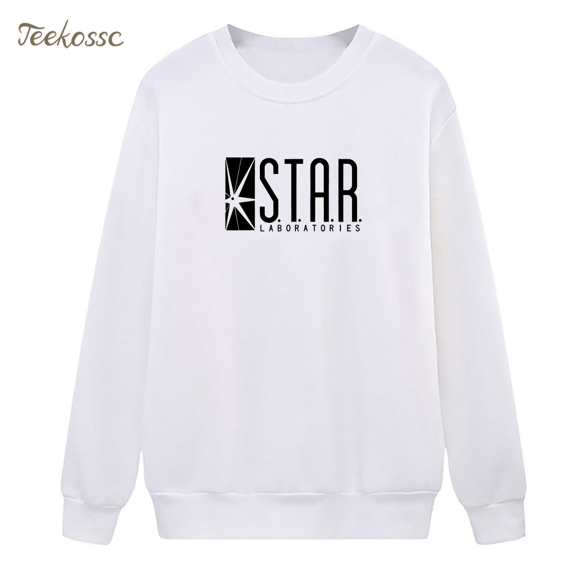 STAR S.T.A.R.labs jumper the flash gotham Sweatshirt Superman Series Hoodie Winter Autumn Women Lasdies Pullover Fleece Hoody