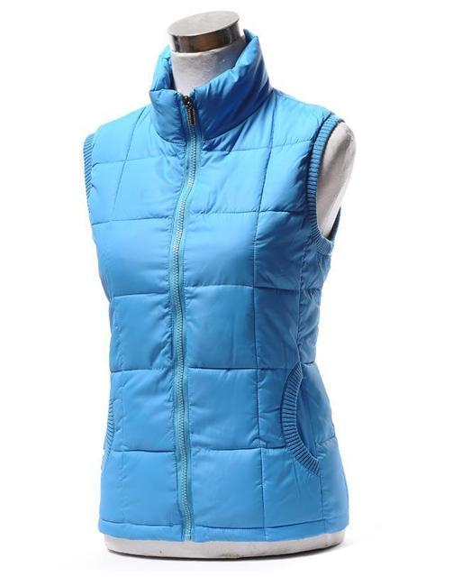 Women's down jacket clothing winter sleeveless cotton down collar vest women leisure vest jacket coat outwear Large size XL-4XL