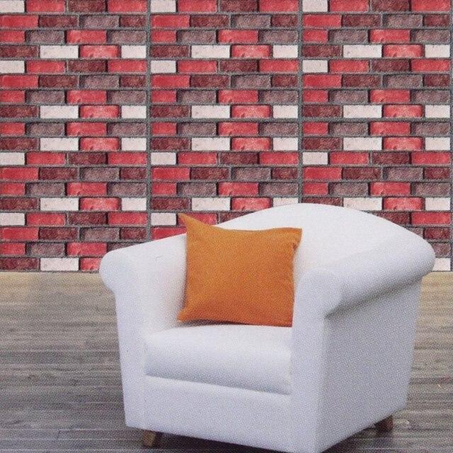 Pvc Adhesive Bricks Mosaics Wallpaper Stickers Tile Decals Modern Mirror Tiles Kitchen Bathroom Decoration