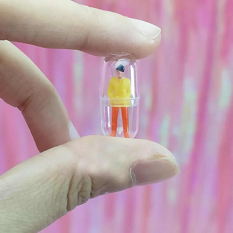 Kreatywny szlam napełniania kapsułek DIY Charms akcesoria mobilne obudowa na telefon dekoracji szlam małe śmieszne zabawki Multicolors