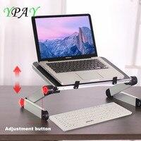 YPAY Ergonomic Laptop Holder 11 17 Inch Notebook Lapdesk 360 Adjustable Portable Folding Desk Bed Laptop Stand For Macbook Pro