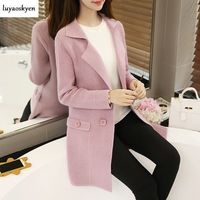 2018 New Autumn And Winter Women S Sweater Women S Long Cardigan Autumn And Winter Women