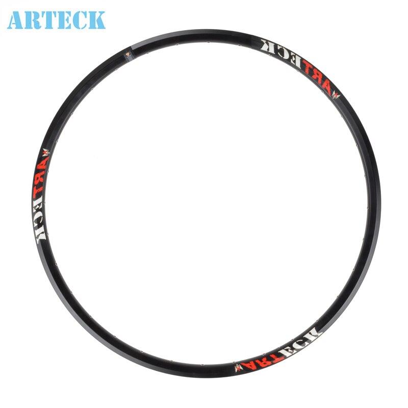 ARTECK 29-inch 27.5-pouces en aluminium montagne freins à disque de vélo cercle 29ER/650B jantes en acier roues