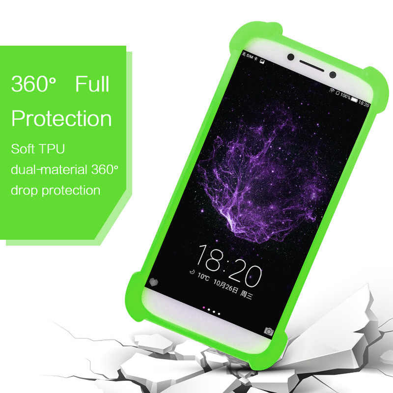 info for 3445b d15a5 Argos Bush 5 Inch Android Smartphone Silicone Case Back Cover TPU Rubber  Bumper Neck Case for Phone