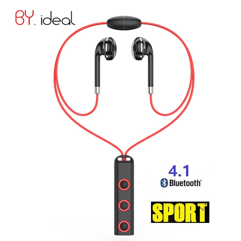New Style Magnetic Earphone Bluetooth Sport Stereo Headset Earbuds Handfree Call Broadcast Earphones with Microphone for Phones new guitar shape r9030 bluetooth stereo earphone in ear long standby headset headphone with microphone earbuds for smartphones