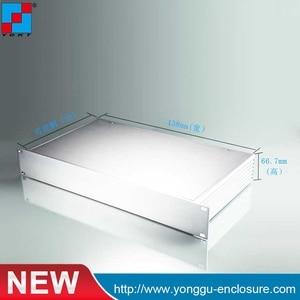 482*66,7*250 мм Высокое качество 19 дюймов 1.5u подставка для серверного корпуса алюминиевый корпус