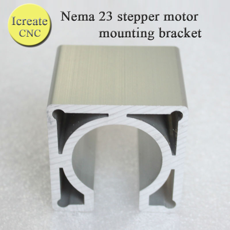 New Design High Quality <font><b>NEMA</b></font> <font><b>23</b></font> Stepper Motor Accessories mounts <font><b>Bracket</b></font> Support Shelf nema23 Stepping Motor Mounting <font><b>Bracket</b></font> image