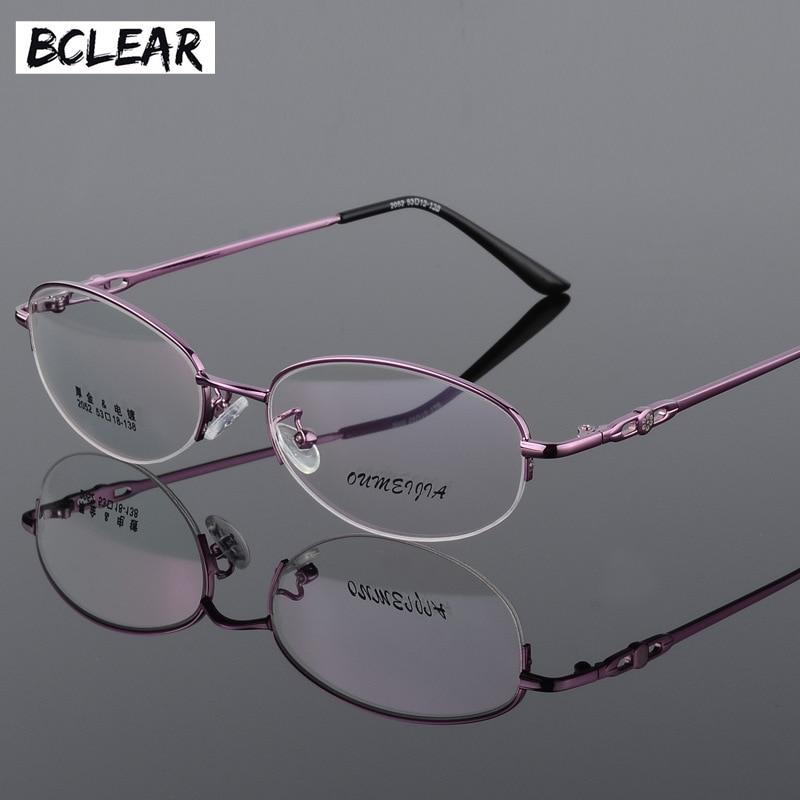 BCLEAR Women Fashion Optical Spectacles Eyeglasses Quality Glasses Optical Frame Retro Cat Eye Oculos De Grau Feminino Armacao