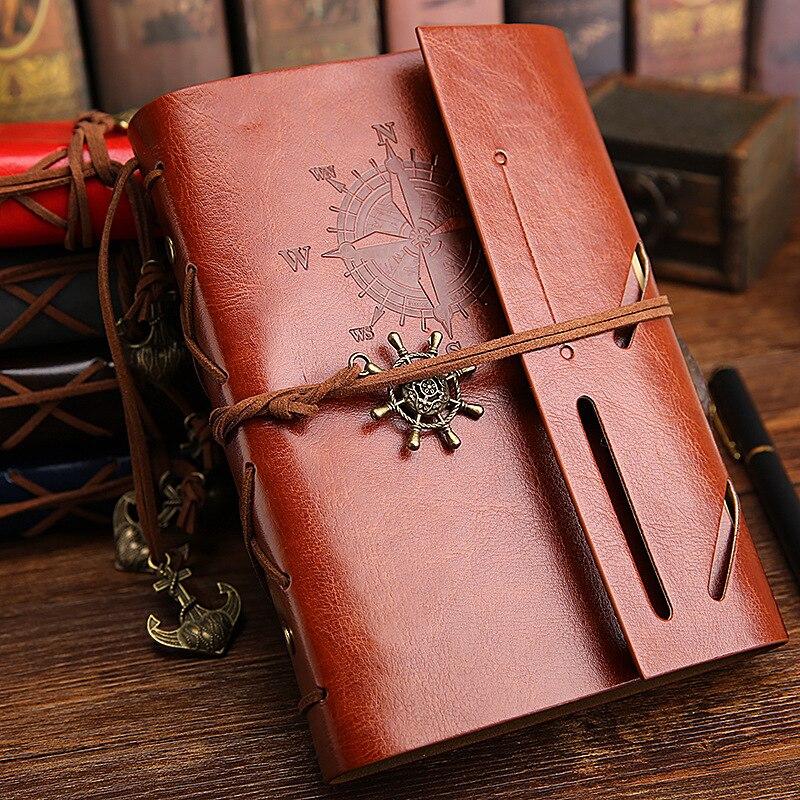 Новые винтажные кожаные corsair ноутбук дневник путешественника отрывными листами Блокнот подарок высшего класса книги