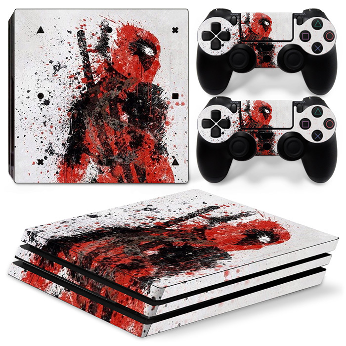 New arrival for PS4 PRO console and controllers vinyl decal skin sticker wrap