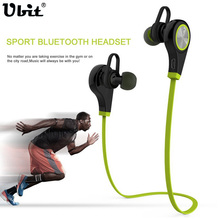 Ubit q9 apt-x bluetooth inalámbrico deportes auriculares estéreo de auriculares auriculares auriculares con micrófono para iphone 7 6 smartphone