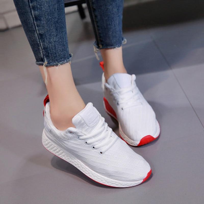 Zapatos Rushed Frauen Turnschuhe 2018 Sommermode Atmungsaktive Damen - Damenschuhe - Foto 3