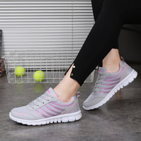 New Arrival 2017 Fashion Women Breathable Woman Shoes Casual Shoes Women Outdoors Walking Casual Shoes