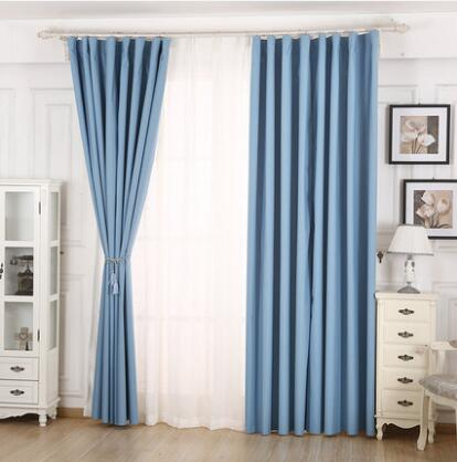 Balcony Waterproof Curtain Free ShippingThickening Polyester Fabric 99 Full Shade Windproof And WaterproofCheap Curtains In From Home Garden