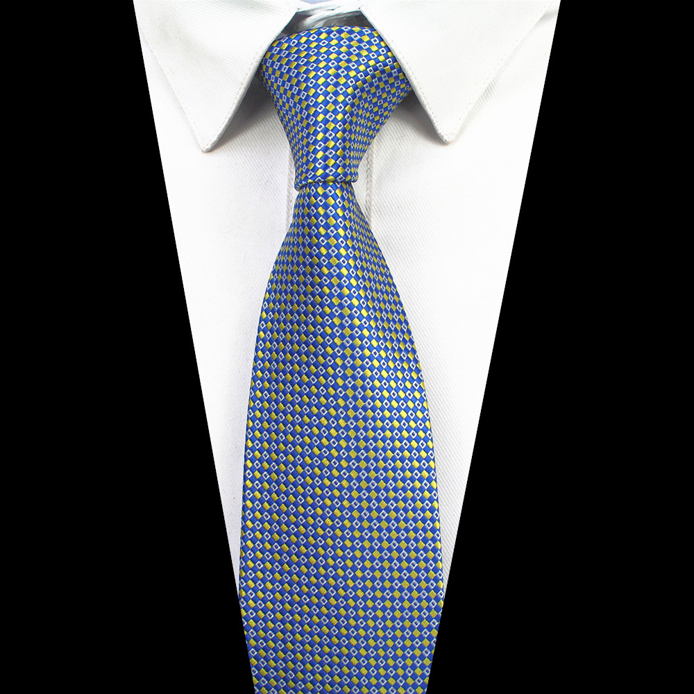 33341551e8c8 Aliexpress.com : Buy RBOCOTT Mens 7cm Tie Striped & Dot Patterned Ties  Classic Neck Ties For Men Accessories Wedding Party Neckties from Reliable  7cm tie ...