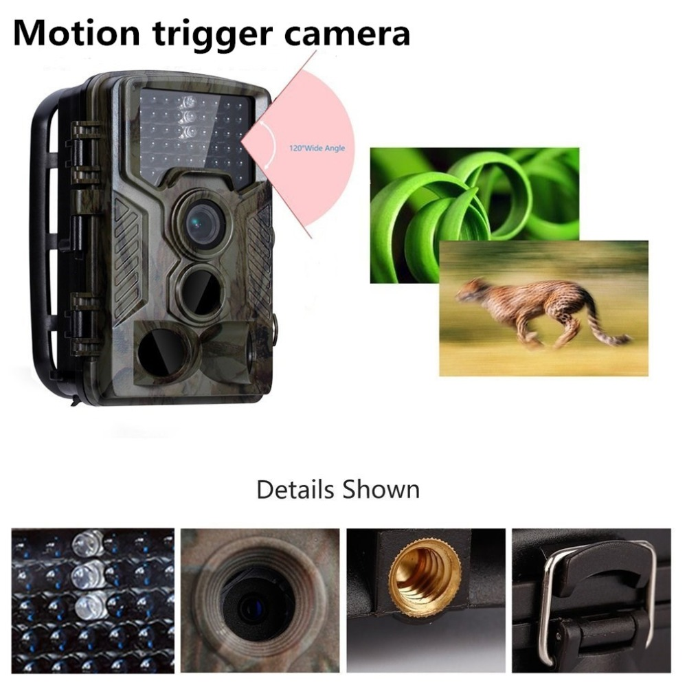 16MP Wild Camera Photo Traps 0.6S Trigger motion detection Trail Camera 1080P with 3 lens Trail Surveillance Camera hidden ajit danti and hiremath p s face detection
