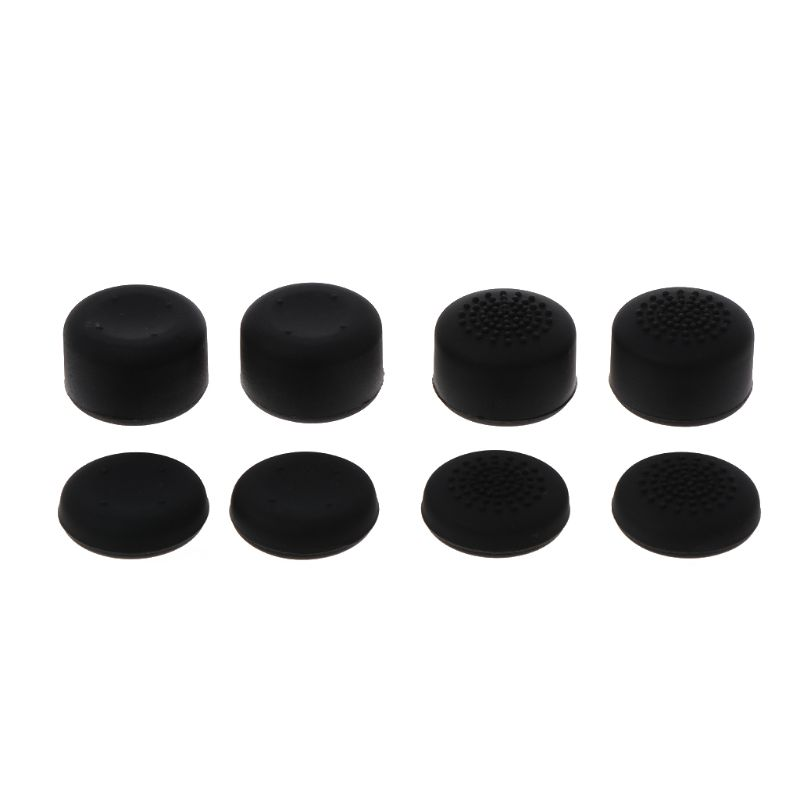8Pcs Rubber Silicone Cap Thumbstick Thumb Stick Enhance Cover Case Skin Joystick Grip For XBOX-ONE 4