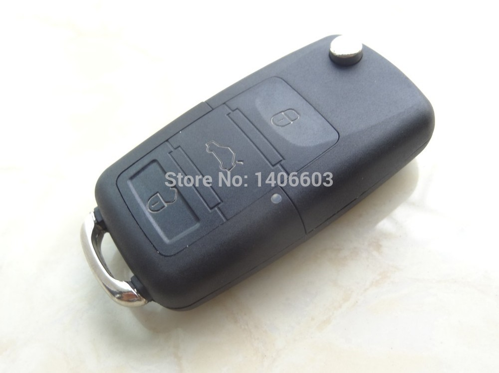 Hot Selling 3 Buttons Remote Car Key Shell for Select VW Passta GOLF Beetle Rabbit Jetta Vehicles