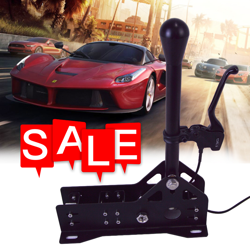 SGDOLL PC Racing Games SRS Sequential Shifter Gearshift SIM For Logitech TH8A G25 G27 G29 T300 T500 FANATEC Action Toy Figures
