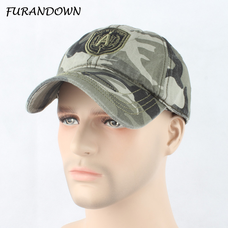 FURANDOWN 2017 camouflage baseball caps army hats for men women - Apparel Accessories - Photo 1