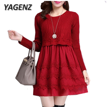 Slim Knitted Dress Winter
