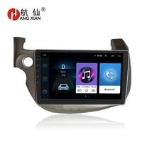 HANG XIAN 10.1 Quadcore Android 8.1 Car radio for Honda Fit 2009 2013 car dvd player GPS navigation car multimedia