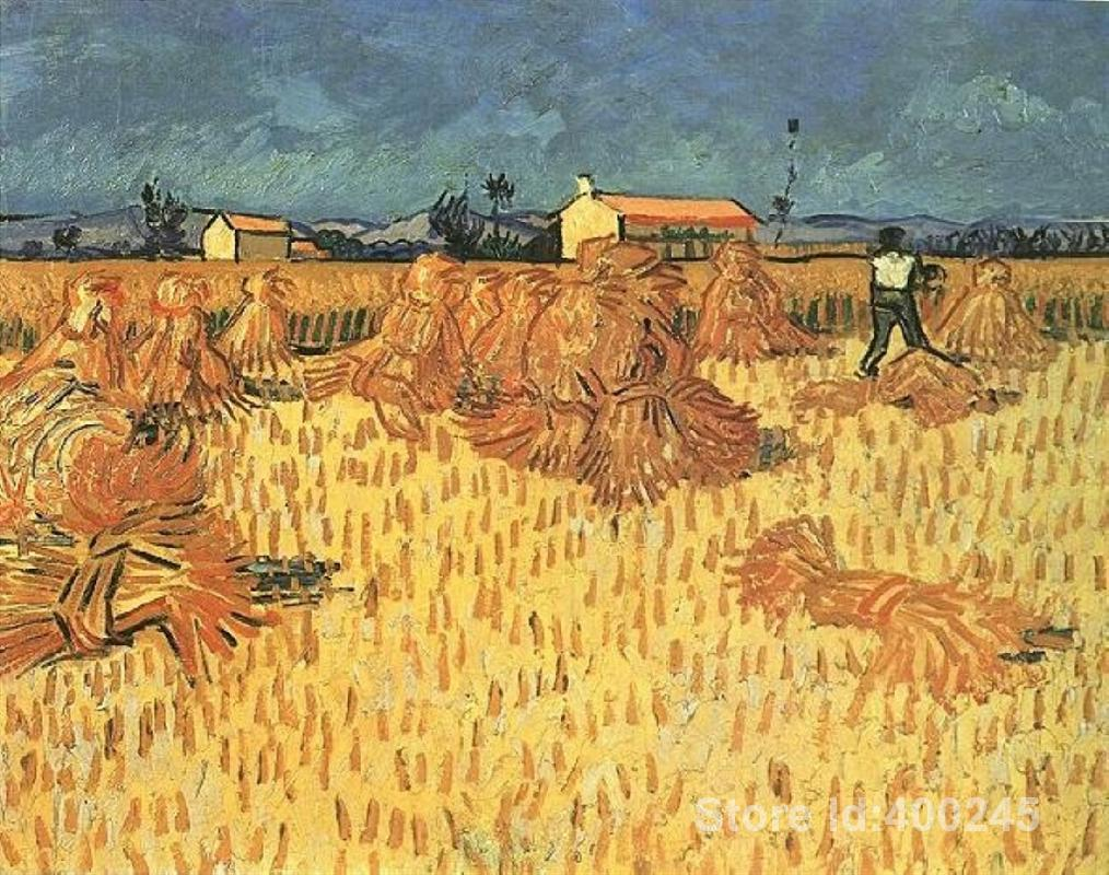 Online Buy Wholesale harvest painting from China harvest ...