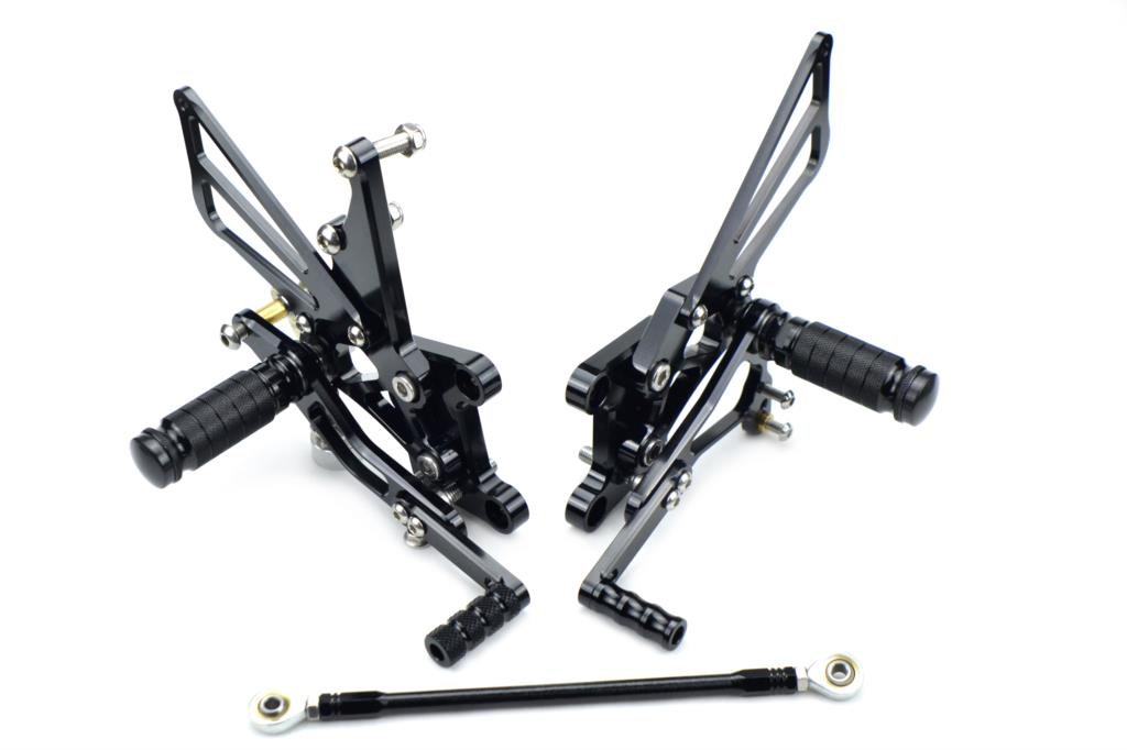 Adjustable Rearset Foot Pegs Rear Sets For Triumph Speed