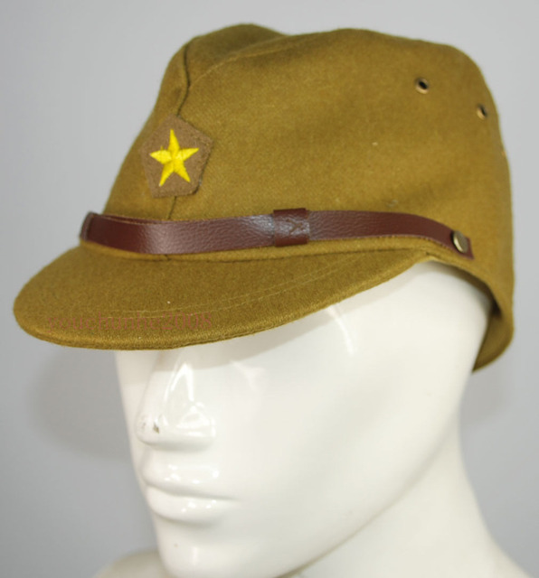 a9421402 WWII WW2 Japanese Army IJA Officer Field Wool Cap Hat MILITARY HAT IN SIZES  - World military Store