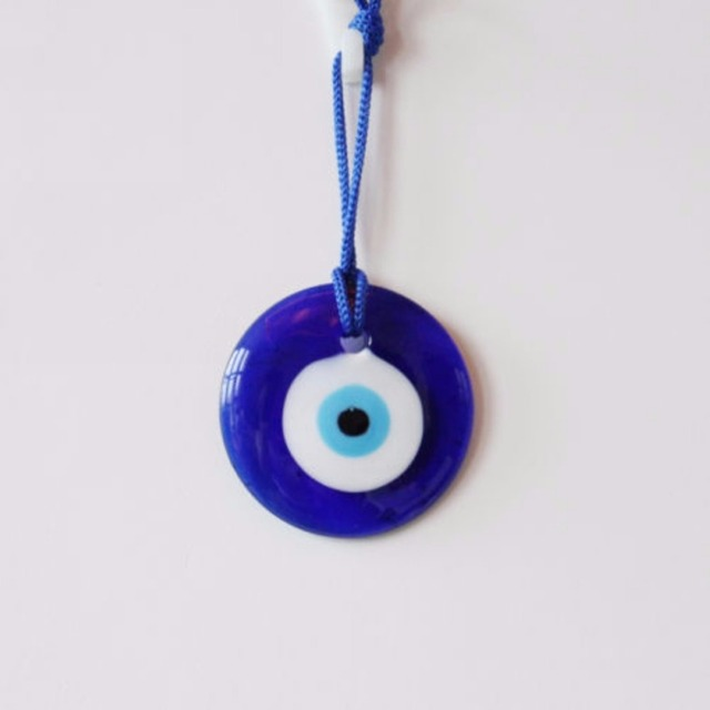 Ordinaire Shellhard Lucky Turkish Blue Glass Evil Eye Amulet Trendy Hanging Charms  Car Office Wall Decoration Home