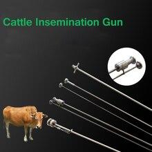 Искусственное осеменение пистолет для крупного рогатого скота коровы молочной универсальный зажим типа фермерское оборудование Семен 0,25 мл 0,5 мл A. I. Ветеринарный инструмент