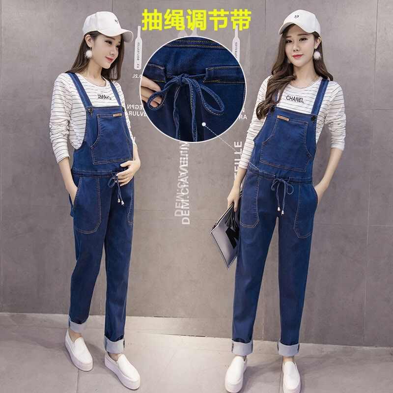 Джинсовые комбинезоны для беременных женщин джинсы для беременных Комбинезоны Брюки для беременных джинсовый комбинезон для беременных штаны Одежда