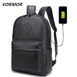 2018 VORMOR New Men Backpack For 15.6 inches Laptop Backpack Large Capacity Stundet Backpack Casual Style Bag Water Repellen