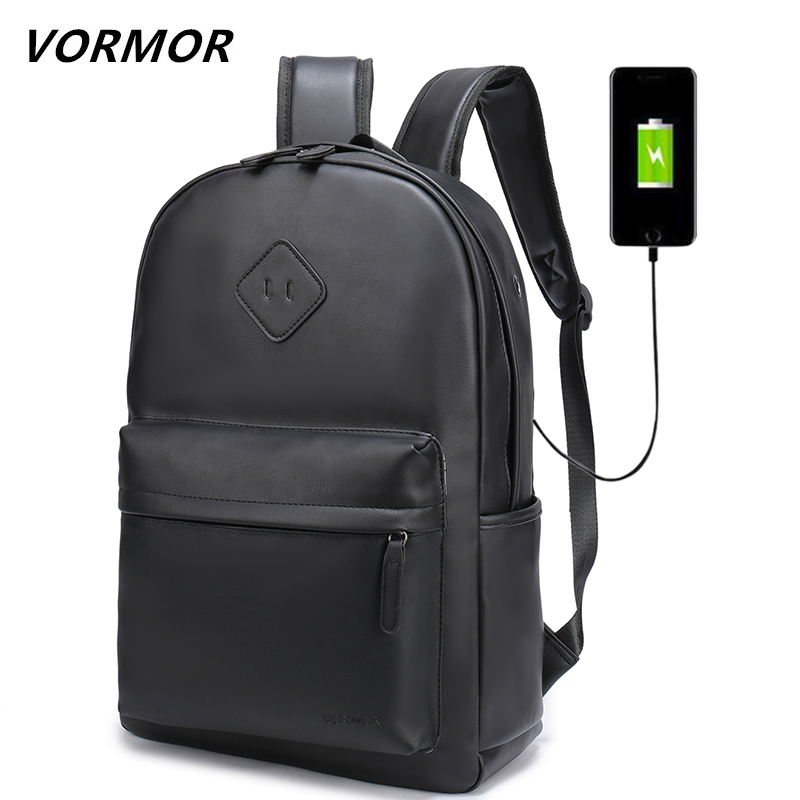 VORMOR New Men Backpack For Laptop 15.6 inches Backpack Large Capacity Student Backpack Casual Style Bag Waterproof