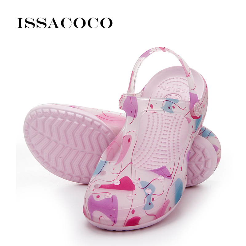 ISSACOCO Brand Shoes Women Sandal Women Summer Women Sandals Flat Summer Beach Casual Sandals Sandals Platform Ladies Shoes