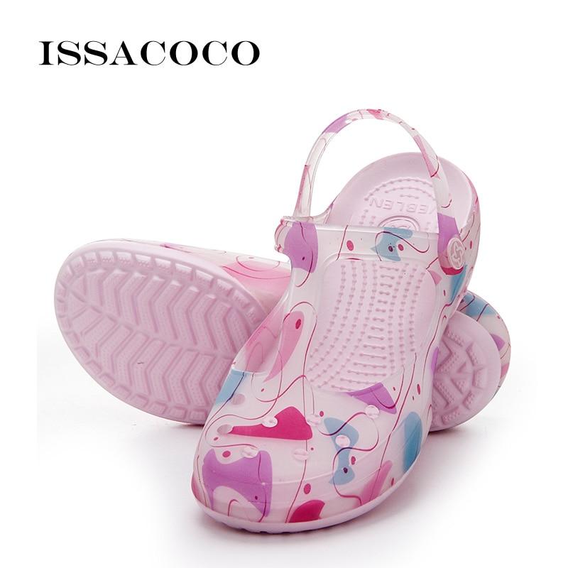 ISSACOCO Slippers Shoes Woman Somen Sandals Wedges Shoes For Women Summer Shoes Sandalias Terlik Pantufa Sandalia Feminina 2018